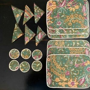Other - Placemats, coasters and napkins from Indonesia